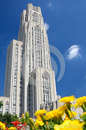 Free Cathedral Of Learning Royalty Free Stock Images - 26131589