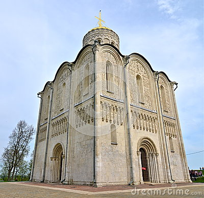 Free Cathedral Of Saint Demetrius, Vladimir, Russia Stock Photos - 36555883