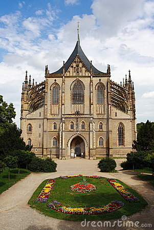 Free Cathedral Of St. Barbara Royalty Free Stock Photography - 2924977