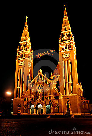 Free Cathedral Of Szeged Stock Photography - 12640782