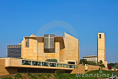 Cathedral of Our Lady of the Angels, Los Angeles. Editorial Stock Photo