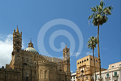 The Cathedral of PalermoSicily, southern Italy.