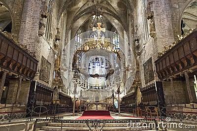 Cathedral Palma de Majorca, Spain