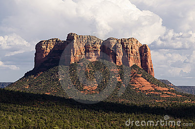 Cathedral red rock in Sedona,AZ