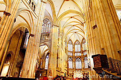 The Cathedral of Regensburg Editorial Photography