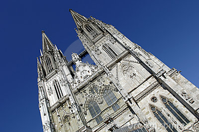 Cathedral of Regensburg in Germany