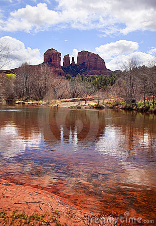Cathedral Rock Canyon Oak Creek Sedona Arizona