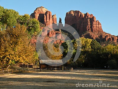 Cathedral Rock Editorial Image