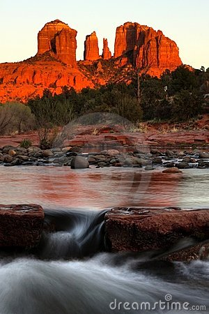 Free Cathedral Rock,Sedona, Arizona Royalty Free Stock Images - 11128969