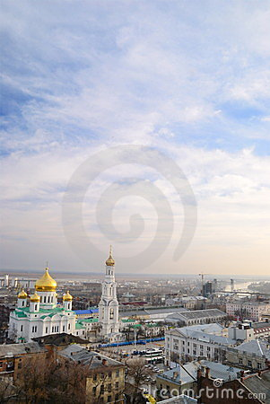 Cathedral. Rostov-on-Don
