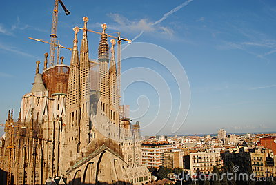 Cathedral of Sagrada Familia