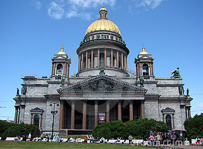 Cathedral of Saint Isaak, St Petersburg, Russia