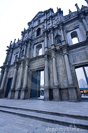Cathedral of Saint Paul in Macao