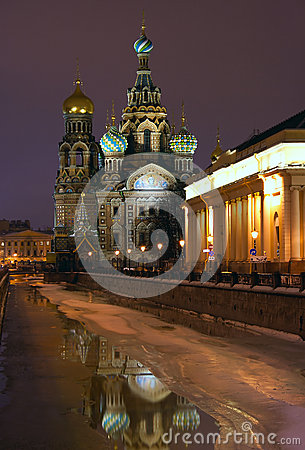 Cathedral Saint-Petersburg