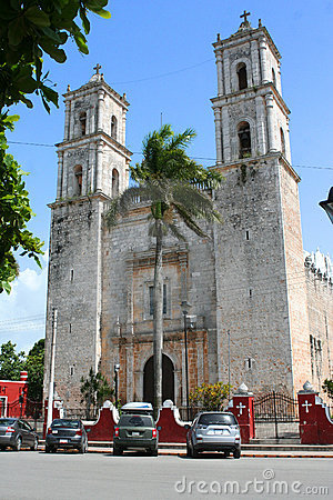 Cathedral of San Gervasio, Valladolid (Mexico)