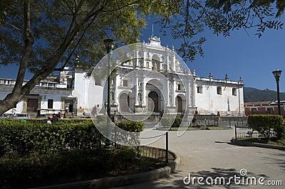 Cathedral san jose antigua guatemala