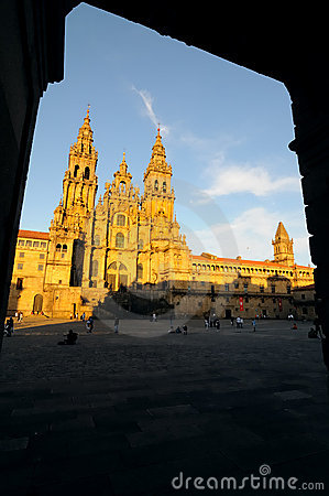 Cathedral in Santiago no.1