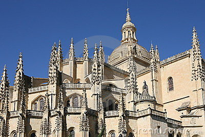 The cathedral at Segovia