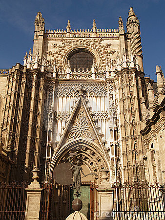 Cathedral of Sevilla in Andalucia