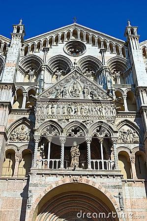 Cathedral of St. George. Ferrara. Emilia-Romagna.