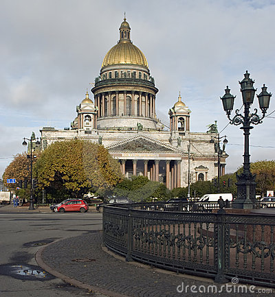 Cathedral of St. Isaak in St. Petersburg
