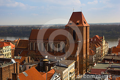 Cathedral of st John, Torun, Poland