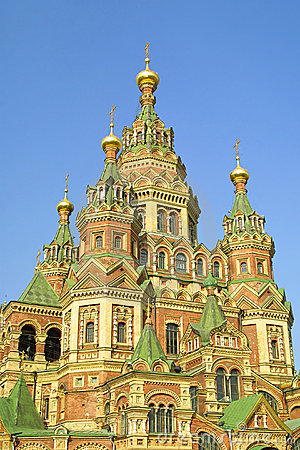 Cathedral of St. Peter and Paul in Peterhof