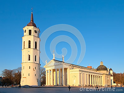 Cathedral of St. Stanislaus in Vilnius