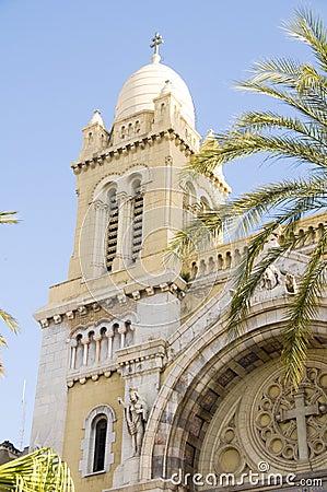 Cathedral of St Vincent de Paul  Avenue Tunis