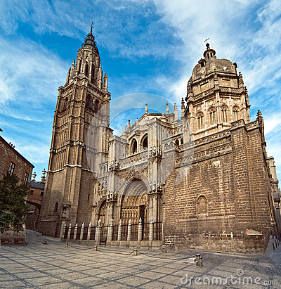 Cathedral in Toledo Spain