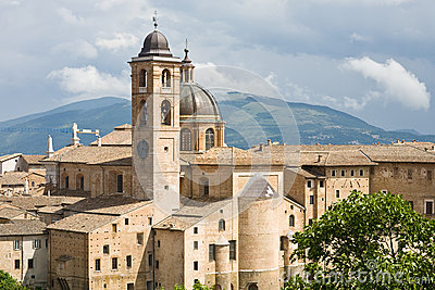 Cathedral of Urbino, Italy