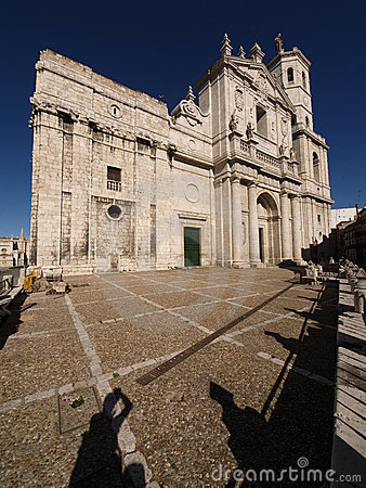 Cathedral Of Valladolid Royalty Free Stock Images - Image: 13960899