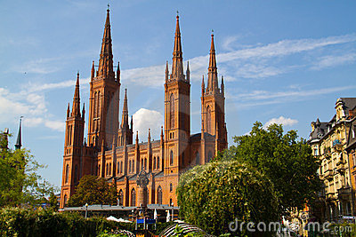 Cathedral in wiesbaden