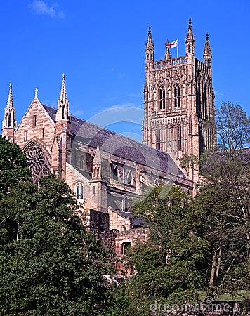 Cathedral, Worcester, England.