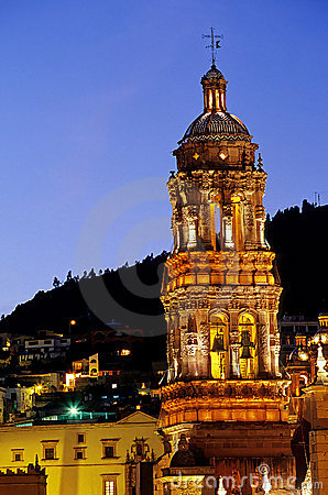 Free Cathedral- Zacatecas, Mexico Stock Photo - 9688450