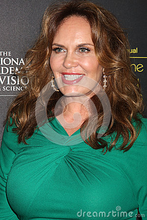 Catherine Bach arrives at the 2012 Daytime Emmy Awards Editorial Stock Image
