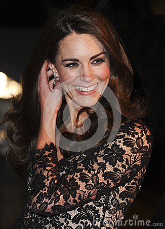 Catherine, Duchess of Cambridge Editorial Image
