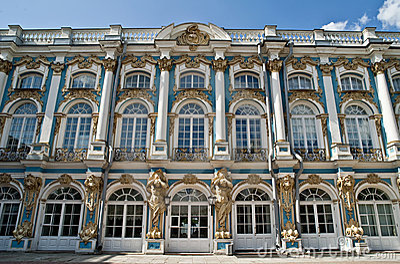 Catherine pałac Petersburg s świętego st
