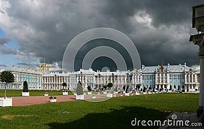 Catherine Palace in Pushkin, Russia.
