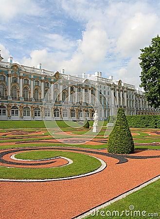 Catherine Palace, Tsarskoye Selo (Pushkin), Russ