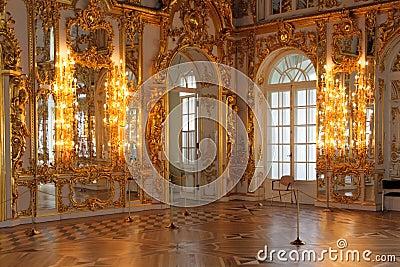 Catherine s Palace hall, Tsarskoe Selo