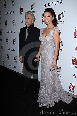 Catherine Zeta-Jones, Michael Douglas Editorial Stock Photo