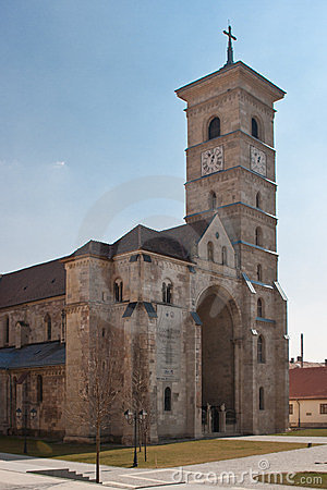 The Catholic Cathedral in Alba Iulia