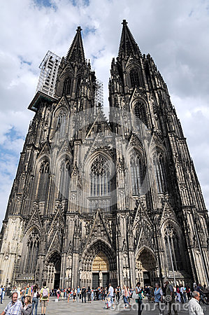 Catholic Cathedral of Cologne,Germany Editorial Photo