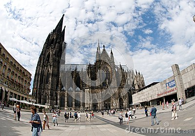 Catholic Cathedral of Cologne,Germany Editorial Image