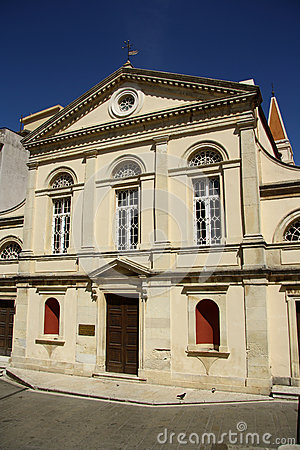 Catholic cathedral in Corfu Town (Greece)
