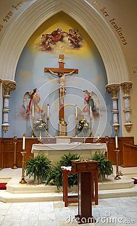 Church Altar Design