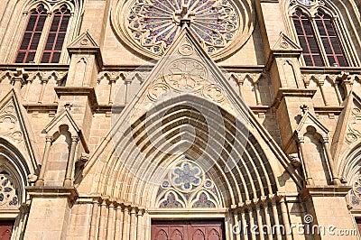 Catholic church external detail