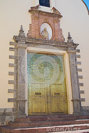 Catholic Church gate