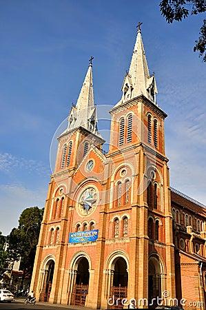 Catholic church in Ho Chi Minh, VietNam